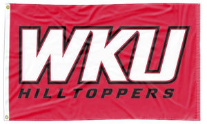 Western Kentucky - WKU Hilltoppers 3x5 Flag
