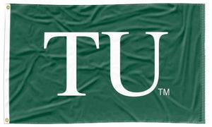 Tulane - TU Green 3x5 Applique Flag