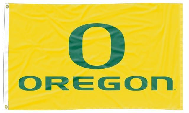Oregon - University Yellow 3x5 Flag