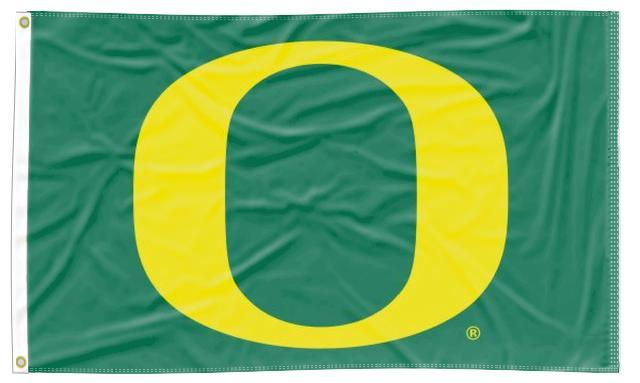 Oregon - Ducks Green 3x5 Flag