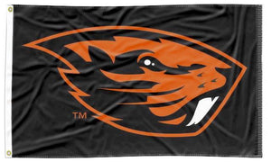 Oregon State - OSU Black 3x5 Flag