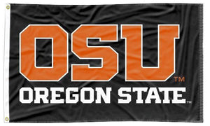 Oregon State - OSU Oregon State Black 3x5 Flag