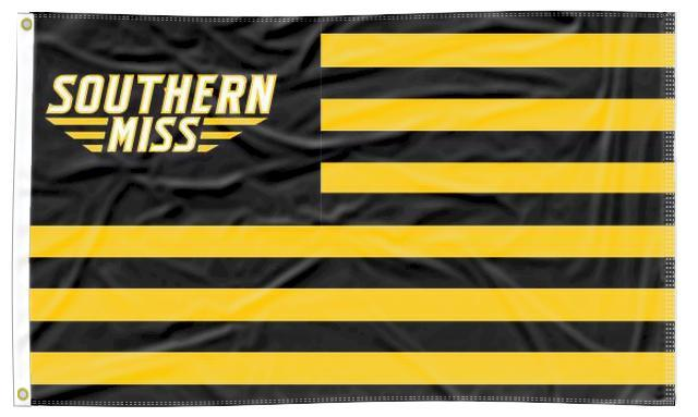 Southern Mississippi - Golden Eagles National 3x5 Flag