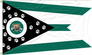 Ohio University - Bobcats State of Ohio 3x5 Flag
