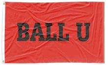 Load image into Gallery viewer, Ball State - BALL U Red 3x5 Flag