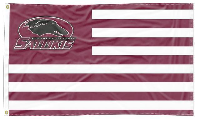 Southern Illinois - Salukis National 3x5 Flag
