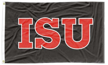 Load image into Gallery viewer, Illinois State - ISU 3x5 Applique Flag