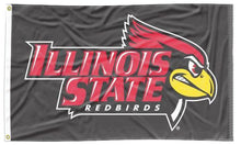 Load image into Gallery viewer, Illinois State - Redbirds Black 3x5 Flag