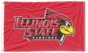 Illinois State - Redbirds Red 3x5 Flag
