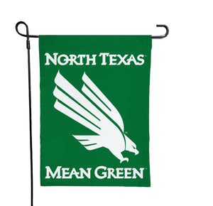 North Texas - UNT Mean Green Garden Flag