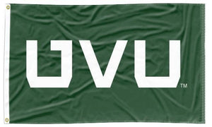 Utah Valley - UVU Green 3x5 Applique Flag