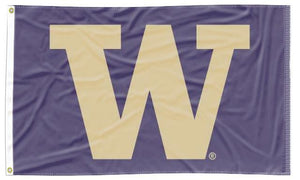 Washington - Huskies Purple 3x5 Flag