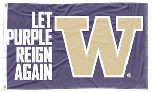 Washington - Let Purple Reign Again 3x5 Flag