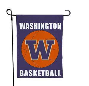 Washington - Huskies Basketball Garden Flag
