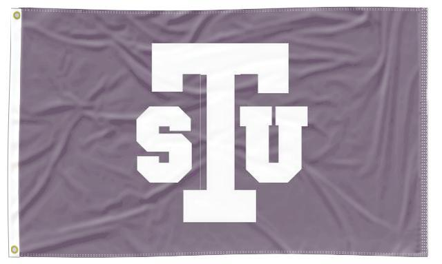 Tarleton State - TSU Purple 3x5 Applique Flag