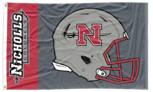 Nicholls State University - Colonel Football 3x5 Flag