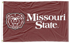Missouri State - Bear Maroon 3x5 Flag