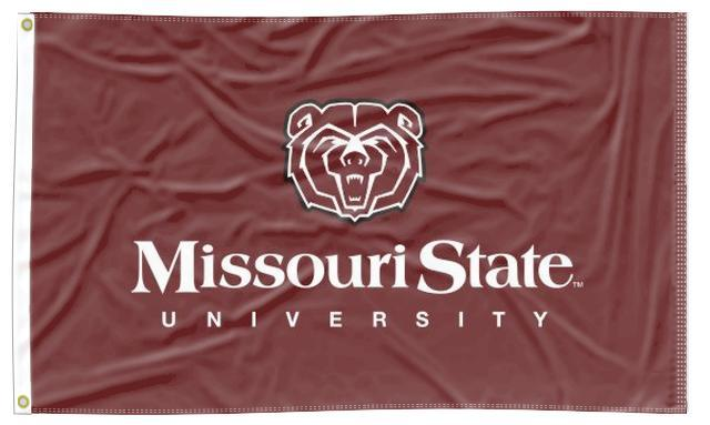 Missouri State - Bear 3x5 Flag