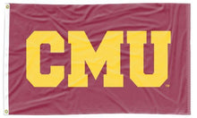 Load image into Gallery viewer, Central Michigan - CMU Maroon 3x5 Applique Flag