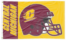Load image into Gallery viewer, Central Michigan - Chippewas Football 3x5 Flag
