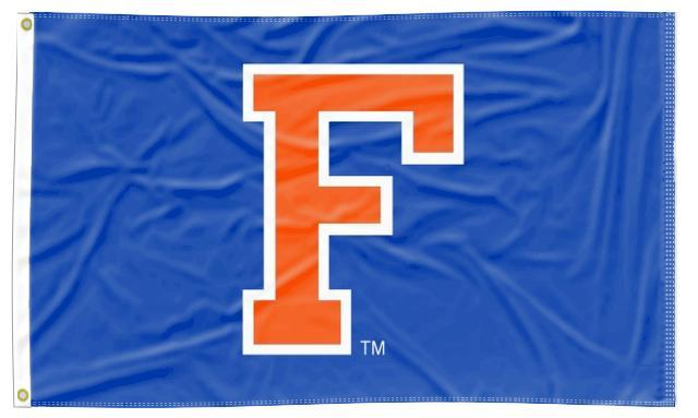 Florida - University Blue 3x5 Applique Flag