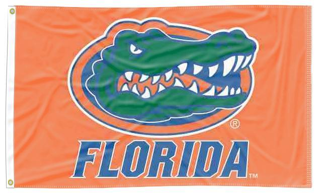 Florida - Gators Orange 3x5 Flag