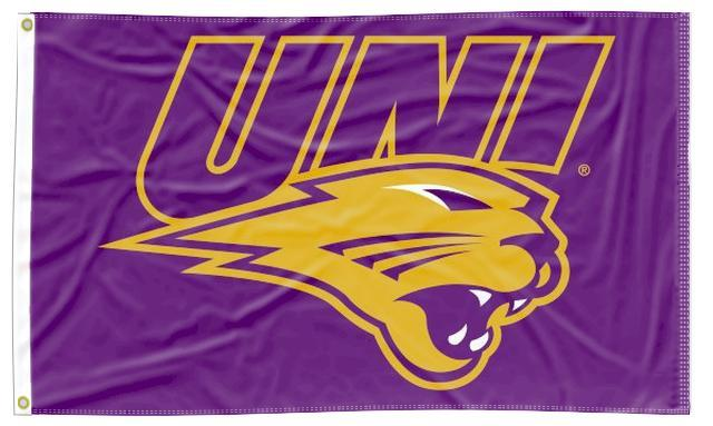 Northern Iowa - UNI Panther 3x5 Flag