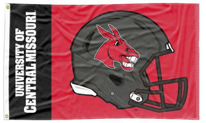 Central Missouri - Mules Football 3x5 Flag