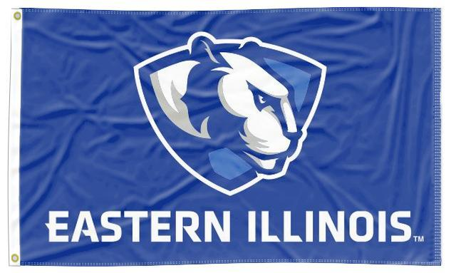 Eastern Illinois - Panther Blue 3x5 Flag