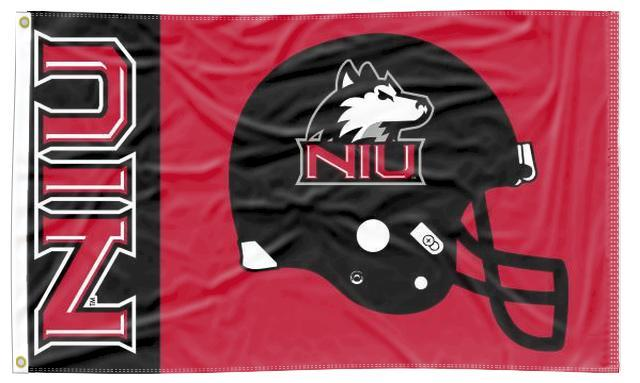 Northern Illinois - Huskies Football 3x5 Flag