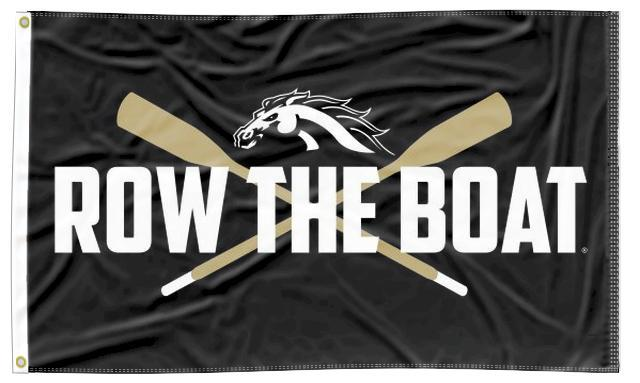 Western Michigan - Row The Boat 3x5 Flag