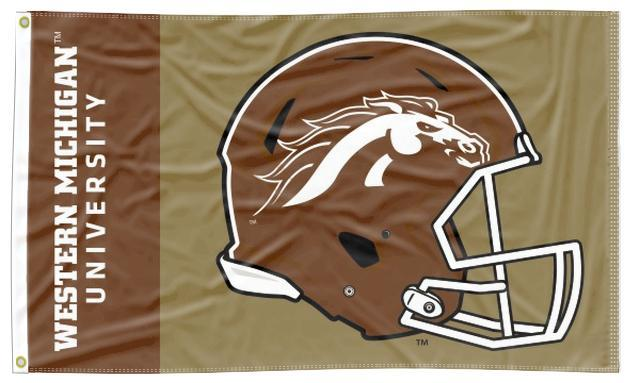 Western Michigan - Broncos Football 3x5 Flag
