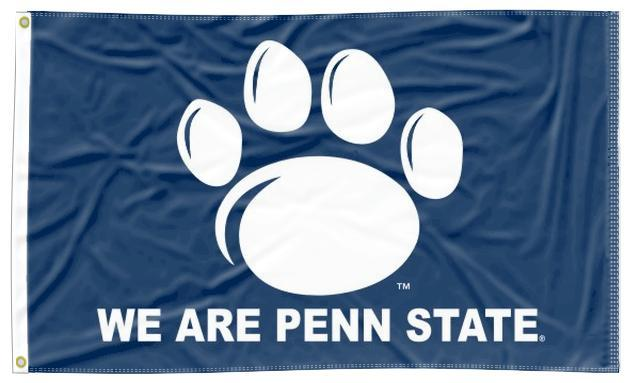 Penn State - We Are Penn State Navy 3x5 Flag