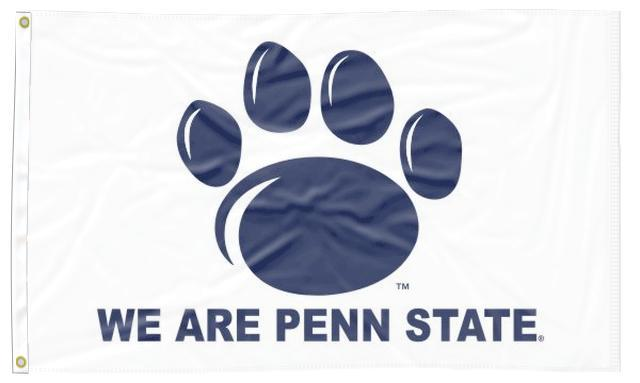 Penn State - We Are Penn State White 3x5 Flag