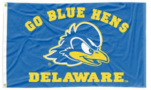 Load image into Gallery viewer, Delaware - Go Blue Hens Blue 3x5 Flag