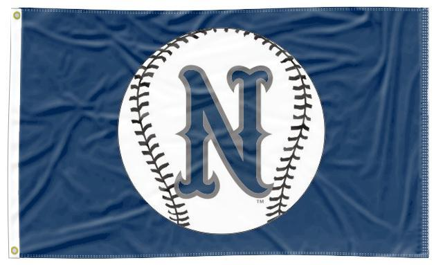 Nevada - Wolf Pack Baseball Navy 3x5 Flag