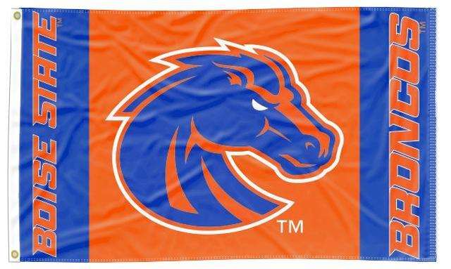 Boise State - Broncos 3 Panel 3x5 Flag