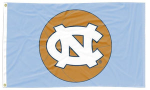 North Carolina - Tar Heels Basketball 3x5 Flag