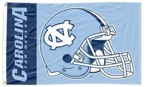 North Carolina - UNC Tar Heels Football Blue 3x5 Flag