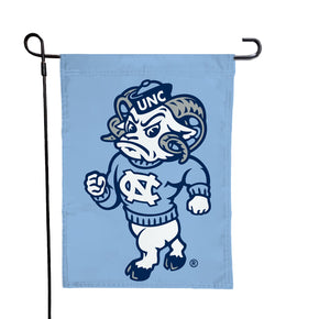 North Carolina - UNC Rameses Blue Garden Flag