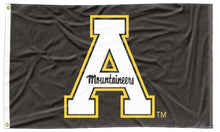 Load image into Gallery viewer, Appalachian State - Mountaineers Black 3x5 Flag