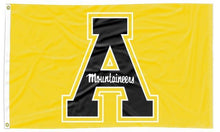 Load image into Gallery viewer, Appalachian State - Black A Gold 3x5 Flag
