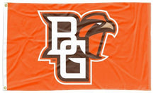 Load image into Gallery viewer, Bowling Green - BG Falcons Orange 3x5 Applique Flag