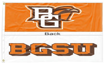 Load image into Gallery viewer, Bowling Green - BG Falcons & BGSU Double Sided 3x5 Flag