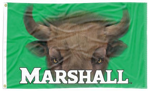 Marshall - Bison Eyes 3x5 Flag