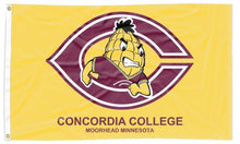 Load image into Gallery viewer, Concordia College (MN) - Cobbers Gold 3x5 Flag