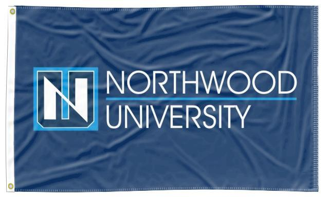 Northwood University - Timberwolves 3x5 Flag
