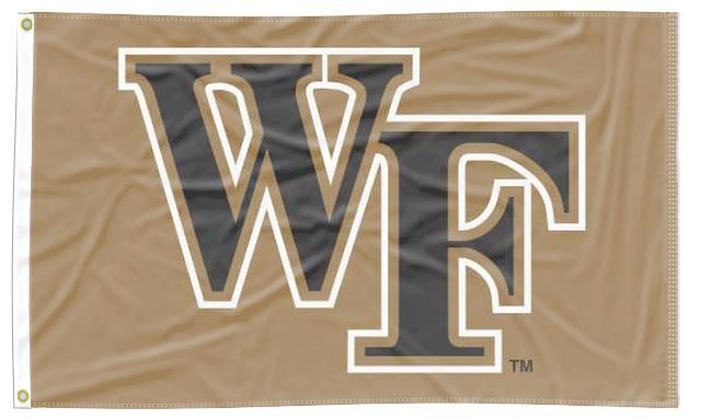 Wake Forest - Demon Deacons Gold 3x5 Flag