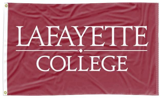 Lafayette College - University Maroon 3x5 Flag