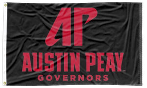 Austin Peay - AP Governors Black 3x5 Flag